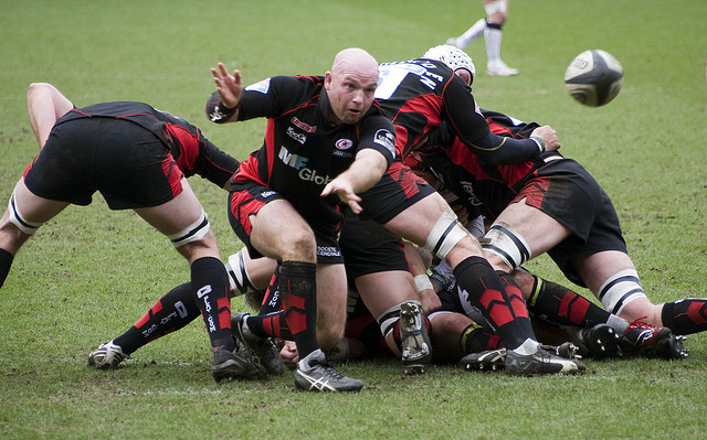CME Group and UK's Saracens rugby team to scrum together in jersey deal
